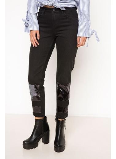 DeFacto Denim Pantolon Siyah
